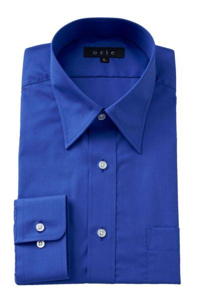 ワイシャツ 5955-01-H-BLUE