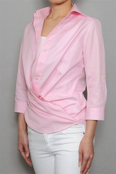 レディースシャツ 6100-B03-B-PINK-