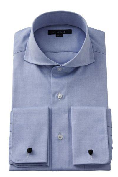 ワイシャツ 8006-S05B-BLUE