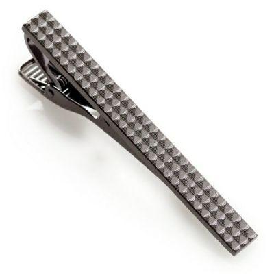 ネクタイピン・タイバー PIN-C-006-SILVERBLACK