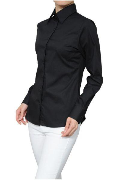 レディースシャツ 6071-F08-BLACK-