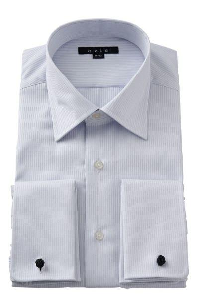 ワイシャツ 8007-G09D-GRAY