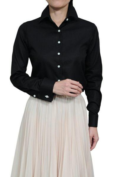 レディースシャツ 6066-G02-BLACK-