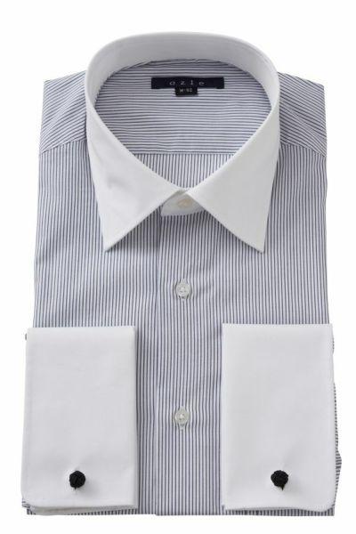 ワイシャツ 8007CL-E05A-NAVY