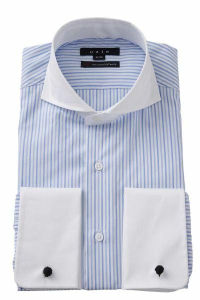 ワイシャツ・カッターシャツ 8006CL-E08A-BLUE
