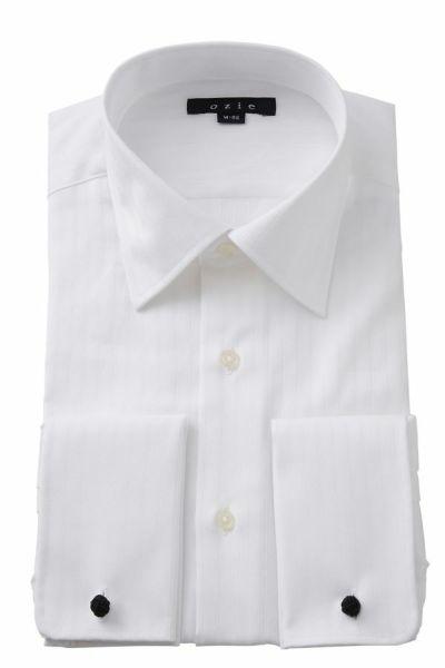 ワイシャツ 8007-E08A-WHITE