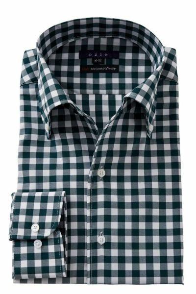 ギンガムチェックのシャツ 8051-E09C-GREEN