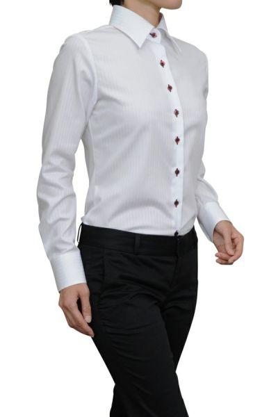 レディースシャツ 6071-G10-1-WHITE-