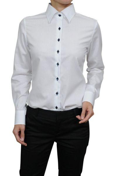 レディースシャツ 6071-G10-2-WHITE-