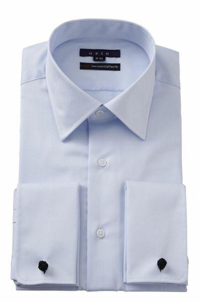 ワイシャツ 8007-E11B-SAX