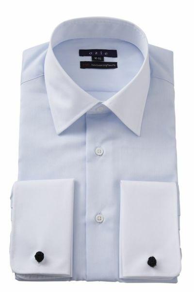 ワイシャツ 8007CL-E11A-SAX