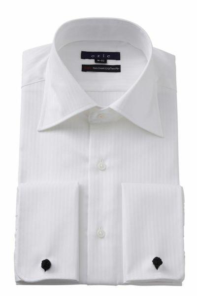 ワイシャツ 8008-E11A-WHITE
