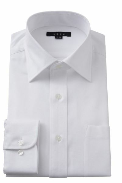 ワイシャツ 8023-Y01A-WHITE-