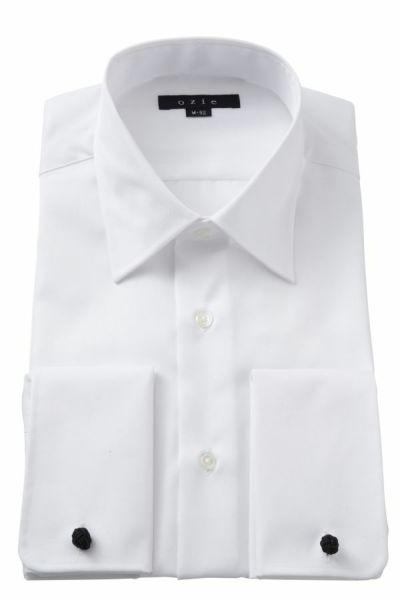 ワイシャツ 8005-Y01A-WHITE