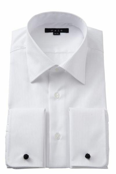 ワイシャツ 8007-Y01A-WHITE