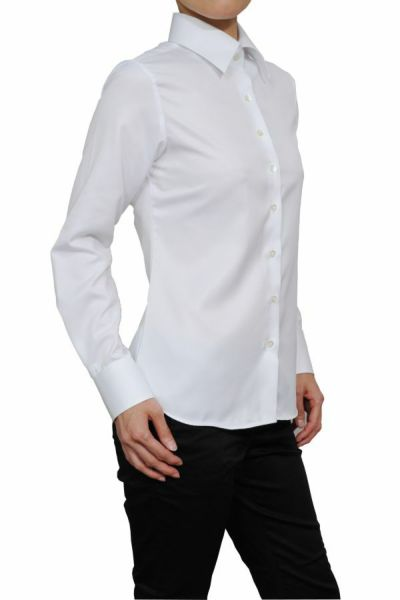 レディースシャツ 6071-H03-WHITE-