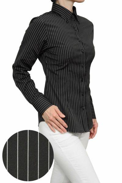 レディースシャツ・ブラウス6274-H07-BLACK-