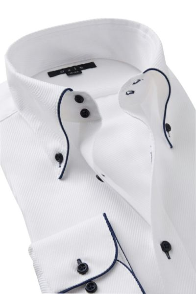 ワイシャツ 8065EP-Y09A-WHITE-衿2