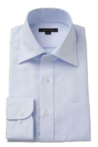 ワイシャツ 8023-Y10A-SAX