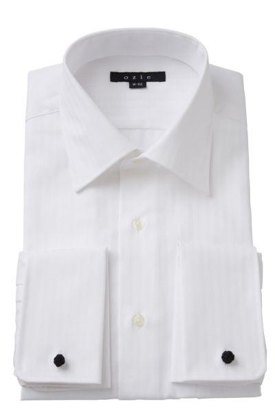 ワイシャツ 8007-Y10A-WHITE