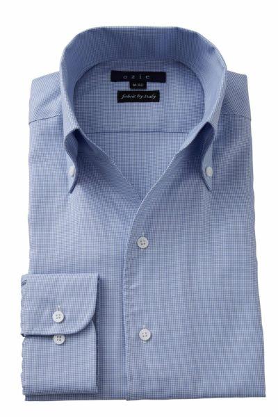 ワイシャツ 8044IT-Y10A-SAX