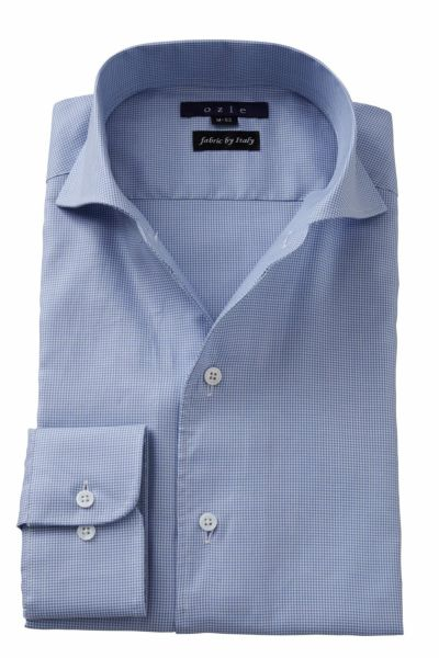 ワイシャツ 8045IT-Y10A-SAX