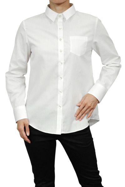 レディースシャツ・ブラウス6400-H10-WHITE-