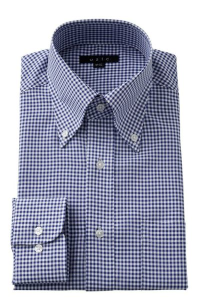 ワイシャツ  8009-Y12A-BLUE