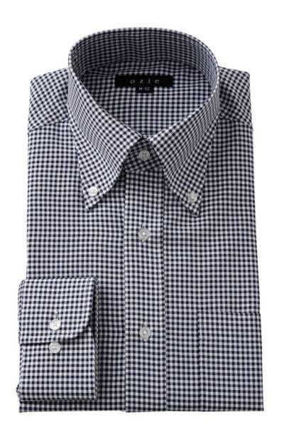 ワイシャツ  8009-Y12B-NAVY