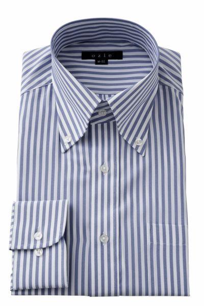 ワイシャツ  8009-Y12C-BLUE