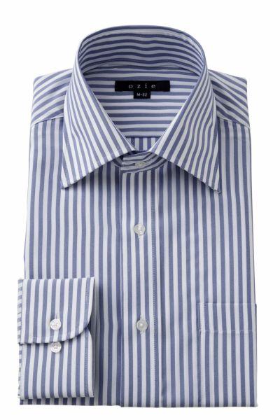 ワイシャツ  8023-Y12A-BLUE