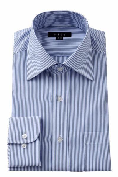 ワイシャツ  8023-Y12B-BLUE