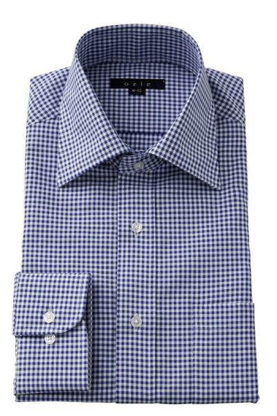 ワイシャツ 8023-Y12C-BLUE