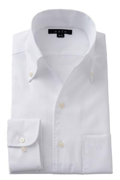 ワイシャツ 8044-A02A-WHITE