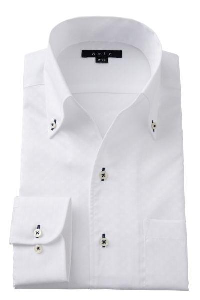 ワイシャツ 8044-A02B-WHITE
