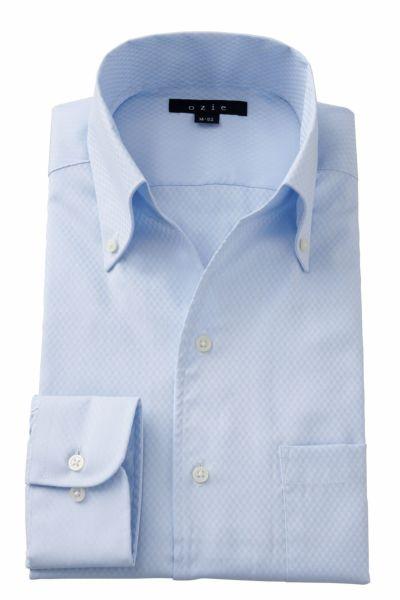 ワイシャツ 8044-A02C-SAX