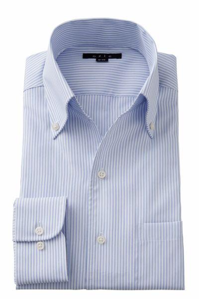 ワイシャツ 8044-A02E-BLUE