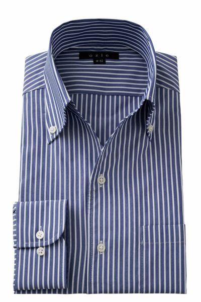 ワイシャツ 8044-A02F-NAVY