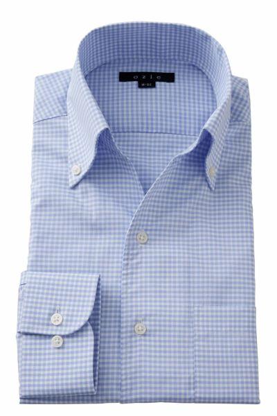 ワイシャツ 8044-A02G-SAX