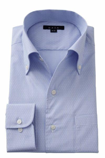 ワイシャツ 8051-A02D-BLUE