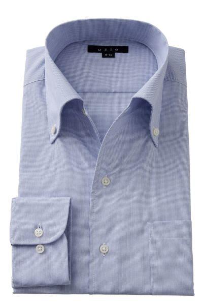 ワイシャツ 8051-A02F-BLUE