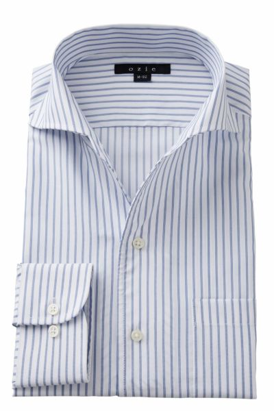 ワイシャツ 8045-A02D-BLUE
