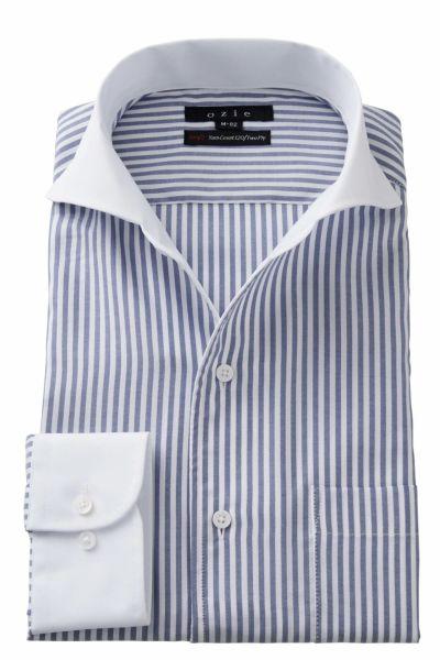 ワイシャツ 8045CL-A02A-BLUE