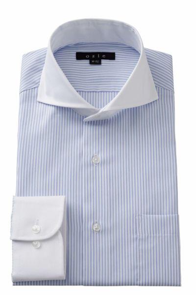 ワイシャツ 8070CL-A02A-BLUE