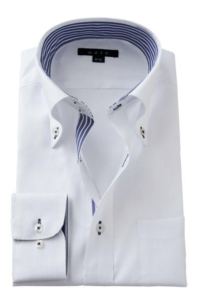 ワイシャツ 8065B-A02A-WHITE