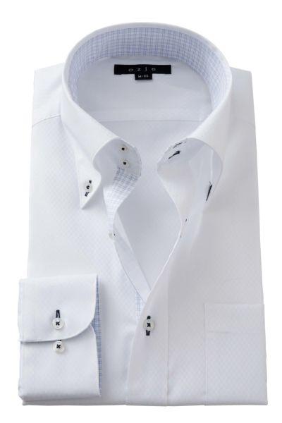 ワイシャツ 8065B-A02B-WHITE