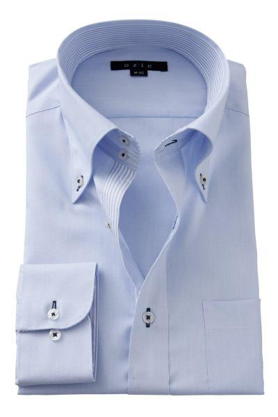 ワイシャツ 8065B-A02C-SAX