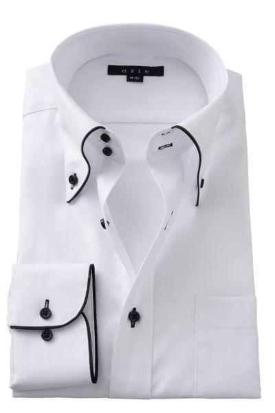 ワイシャツ 8065EP-A02A-WHITE