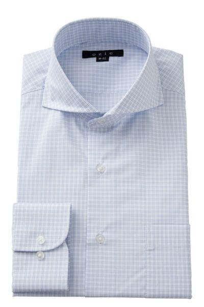 ワイシャツ 8070-A02D-BLUE