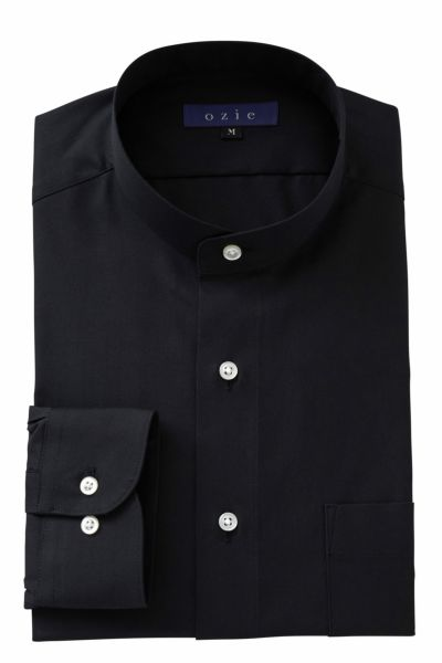 ワイシャツ 8063-A02B-BLACK